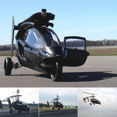 This month Dutch company PAL-V unveiled their eponymous product, a flying car known as the Personal Air & Land Vehicle.