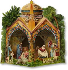 Dome Nativity - PaperModelKiosk.com http://www.papermodelkiosk.com/shop/item-detail.php?item_id=677_id=125#item