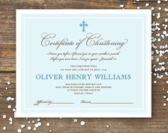 Free printable baptism certificate template forms pinterest christening or baptism certificate keepsake printable monogram baby boy pronofoot35fo Choice Image