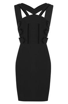 ROLAND MOURET Dress With Cut Out Detail. #rolandmouret #cloth #dresses
