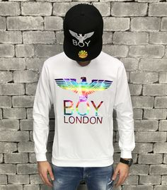 Boy London, Graphic Sweatshirt, Street Style, Sweatshirts, Boys, Sweaters, Shopping, Fashion, Baby Boys