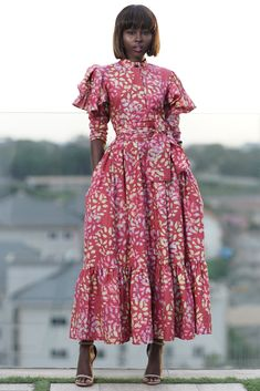 African Maxi Dresses, Latest African Fashion Dresses, African Dresses For Women, African Attire, African Wear, African Women, Ankara Fashion, African Style, African Dress Designs