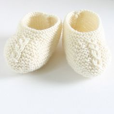 Ravelry: 28 / Baby Booties pattern by Florence Merlin