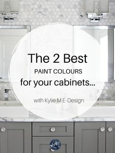 Bathroom Cabinet Paint Ideas Luxury the 6 Best Paint Colours for A Bathroom Vanity – Including Grey Bathroom Paint, Grey Bathroom Cabinets, Best Bathroom Colors, Painting Bathroom Cabinets, Bathroom Vanities, Wood Cabinets, Colorful Bathroom, Bathroom Ideas, Kitchen Cabinets
