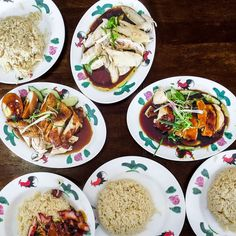 Chicken rice and char siew rice at Wee Nam Kee Chicken Rice United Square    #sgeats #sgfood #sgrestaurant #weenamkee #chickenrice #ordinarypatrons