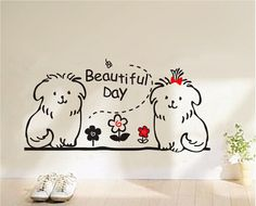The family bear vinyl wall sticker for kids rooms by CuteDream, $18.99