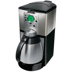 Mr Coffee Thermal Coffeemaker Stainless Steel >>> Read more at the image link. (This is an affiliate link) Coffee Making Machine, Coffee Machines For Sale, Espresso Coffee Machine, Espresso Maker, Coffee Maker With Grinder, Drip Coffee Maker, Coffee Brewer, Coffee Cups, Best Food Processor