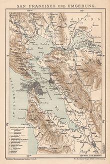 SAN FRANSISCO - OLD MAP