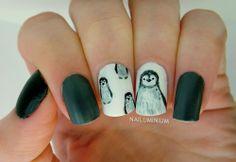 Nailuminium: Baby Penguin #nail #nails #nailart