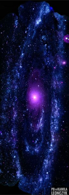 Andromeda Galaxy as seen by the Swift satellite in UV light