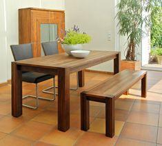 tavolo allungabile rettangolare in legno massello storia by domus ... - Tavolo Allungabile Rettangolare
