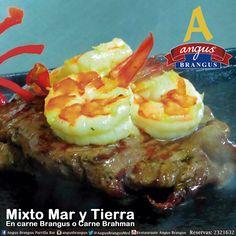 Hoy en Angus Brangus encuentras plato recomendado: Mixto Mar y Tierra, Lomito de res a la brasa y Langostinos salteados en mantequilla y ajo.   Reservas: 2321632 / www.angusbrangus.com.co   #MedellínSíSabe #AngusBrangus #Quehacerenmedellin #gastronomia #restaurantesmedellín @Pasaporte_Vip @ClubIntelecto @Restorando