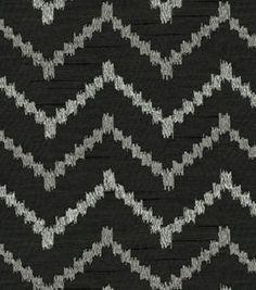Upholstery Fabric-HGTV HOME Life Line Zinc