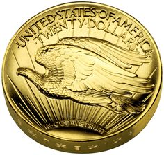 Numismatic gold coin