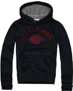 Abercrombie & Fitch Varsity Waffle Lined Hoodie, Navy $72.00