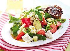 Avocado-Salat & Schweinemedaillons Rezept
