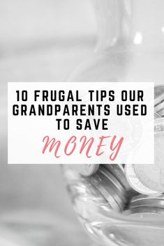 10 Frugal household tips our grandparents used to save money - EmmaDrew. Living On A Budget, Frugal Living Tips, Frugal Tips, Save Money On Groceries, Ways To Save Money, How To Make Money, Money Saving Challenge, Money Saving Tips, Saving Ideas
