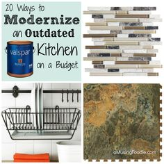 Modernizing Outdated Kitchens on a Budget - (a)Musing Foodie