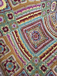 Hand Crochet, Crochet Baby, Crochet Granny Square Afghan, Demelza, Afghan Blanket, Knitted Blankets, Vintage Crochet, Handmade Baby, Ebay