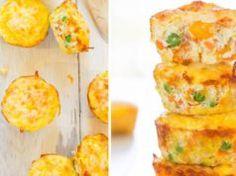Už jste zkoušeli zeleninové muffiny? Že ne? Tak na co ještě čekáte, tato skvělé mňamka se bude skvěle hodit jako odpolední svačinka.