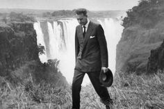 Mr Ian Smith, rebel Premier of Rhodesia, walking along by the Victoria Falls, his first public appearance since declaring unilateral declaration of Independence (based on white minority rule). Douglas Smith, Ian Smith, John Rhodes, Reality Of Life, Victoria Falls, Lest We Forget, Fighter Pilot, All Nature, Declaration Of Independence