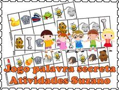 Jogo da palavra secreta - Atividades Adriana