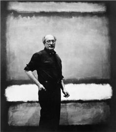 Mark Rothko portrait in his studio. - Mark Rothko portrait in his studio. Mark Rothko Paintings, Rothko Art, Art Paintings, Franz Kline, Camille Pissarro, Abstract Painters, Painting Abstract, Abstract Nature, Yellow Painting