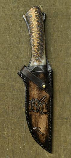 Custon handmade Peremský knife