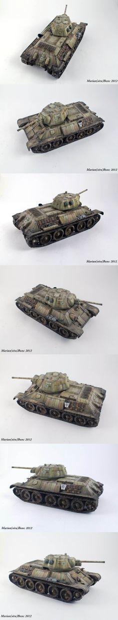 T-34/76 1/35 Scale Model