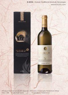 K-SOOL | Cheongdo Persimmon Wine GAMGRIN Special  www.K-SOOL.com