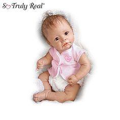 Ashton-Drake Lifelike Baby Girl Doll Collection