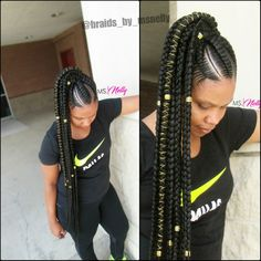 Feed In Braids Styles Picture 125 popular feed in braid hairstyles with tutorial Feed In Braids Styles. Here is Feed In Braids Styles Picture for you. Feed In Braids Styles 79 gorgeous feed in braid hairstyles to choose from. Braided Ponytail Black Hair, Feed In Braids Ponytail, Feed In Braids Hairstyles, Braided Ponytail Hairstyles, Black Girl Braids, Braids For Black Hair, Girls Braids, African Hairstyles, Hairstyles Haircuts