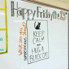 Do you consider yourself a superstitious person? Friday Messages, Morning Messages, Journal Topics, Journal Prompts, Morning Board, Morning Activities, Daily Writing Prompts, Bell Work, Responsive Classroom