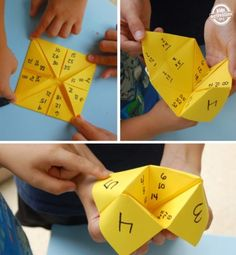 multiplication paper game with skip counting