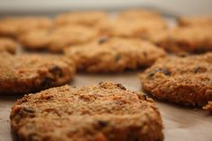 Raw carrot cake cookies, seem pretty easy to do. No out of the ordinary ingrediants or anything that you'd have to find at a specialty health store