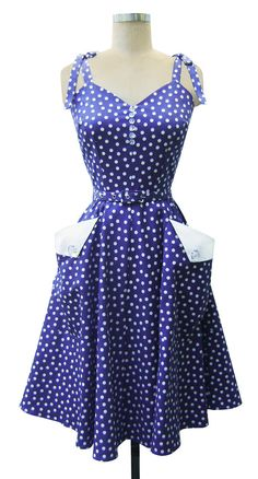 Trashy Diva Lucille Dress in Lucy Dots. Wearing this to the convention. Got the matching little girl version for my daughter. Can't wait to wear it!