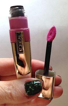 Makeup Review, Swatches: L'Oréal Colour Caresse Wet Shine Lip Stain by Colour Riche   BeautyStat.com
