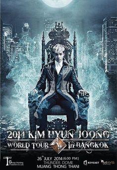 awesome [Update #World Tour] – Kim Hyun Joong 2014 World Tour Seoul and Bangkok