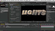 Cineware and Cinema 4D Lite Quickstart Tutorial