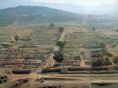 The ancient city of Taxila. Annexed by the Persian King Darius the Great in 518 BC. Located in northwestern Pakistan