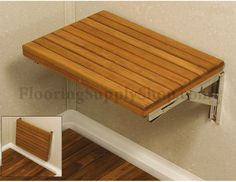 New Bath Shower Wall Chair Bathroom Stool High-quality Household Wall Mounted Shower Seat Bathroom Folding Chair With Stool Legs Fragrant Flavor In