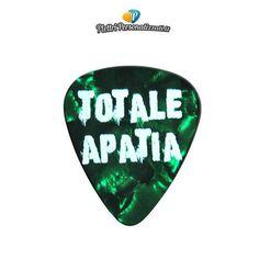 Plettri Personalizzati per Totale Apatia - http://www.totaleapatia.it gruppo indie punk di Brescia.