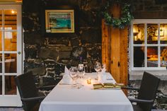 Bushmills Inn, Co. Castle Restaurant, Cosy Winter, Ireland, Luxury, House, Home, Irish, Homes, Houses