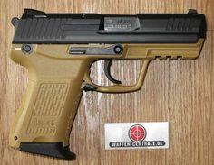 Heckler & Koch HK45C .45 Cal Auto Color: Sand - Weapons Centrale