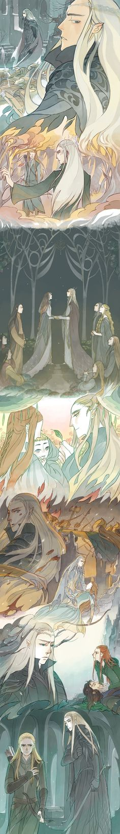 Awww! See this is what I think of every time I think of Thranduil