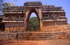 Labna  El arco labna - the main arch in Labna. Labna, Xlapak, Sayil, Kabah and Uxmal are the main Mayan sites on the Puuc Route.By: Manoj R