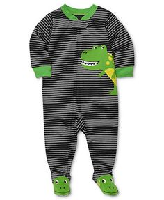 Carter's Baby Pajamas, Baby Boys Striped Coveralls