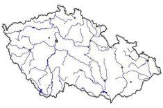 Výsledek obrázku pro slepá mapa řeky čr Learning, Petra, World, Nature, Bullet Journal, Education, Geography, Naturaleza, Studying
