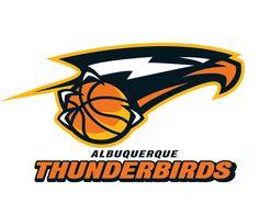Basketball logo design ideas albuquerque thunderbirds basketball logo sports logos in 2018 ideas