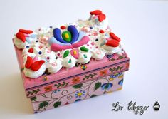 Decoden box - hungarian style.
